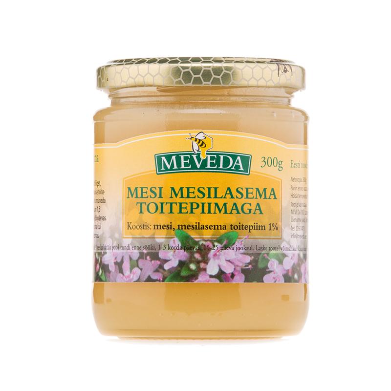 Mesi mesilasema toitepiimaga 300g Eesti mesi